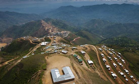banro gold mine
