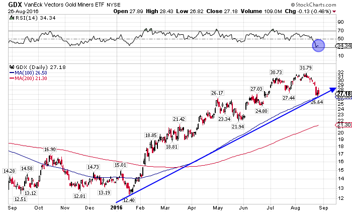 gold miners etf