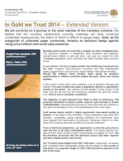 In Gold Trust Cover