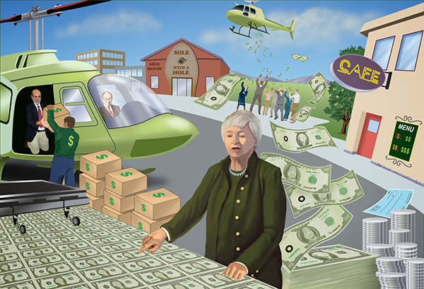 yellen helicopter