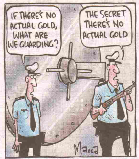 gold gone cartoon
