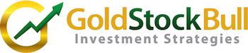 Gold Stock Bull Logo