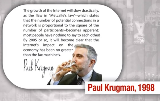 paul krugman quote internet