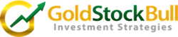 Gold Stock Bull Mobile Retina Logo