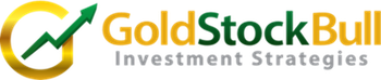 Gold Stock Bull Sticky Logo