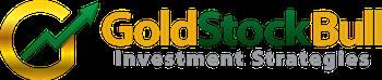 Gold Stock Bull Sticky Logo