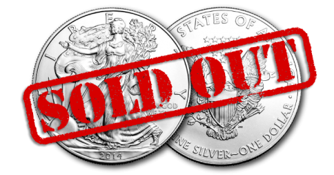 silver eagles sold out