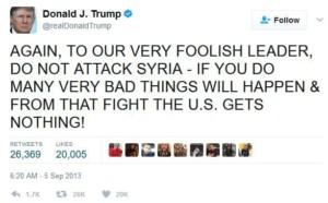 trump tweet syria